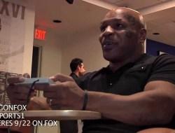 Mike Tyson joga Punch Out pela primeira vez