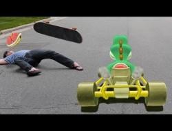 Vídeos criativos apresentam games na vida real